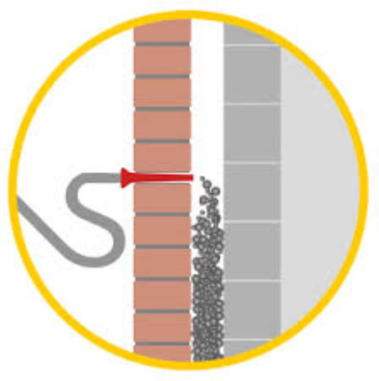 EPS-parels-aanbrengen